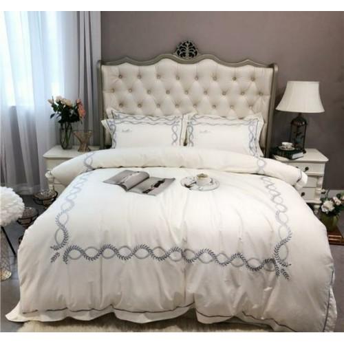 Комплект постельного белья из египетского хлопка с вышивкой