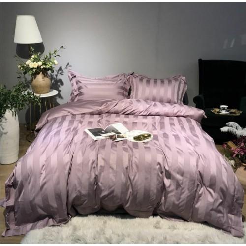 Комплект постельного белья из страйп-жаккарда