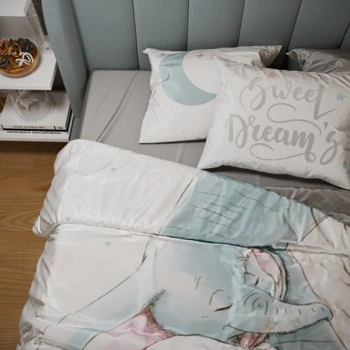 Комплект постельного белья из тенселя с эксклюзивным принтом