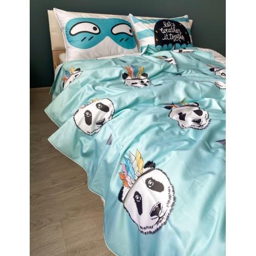Комплект постельного белья с эксклюзивным принтом