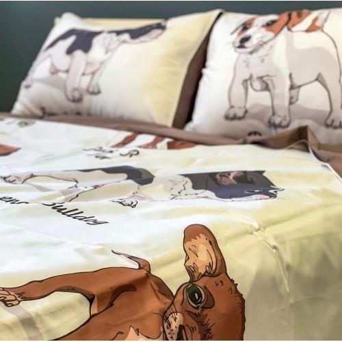 """Комплект постельного белья c эксклюзивным принтом бренда """"Shilly"""""""