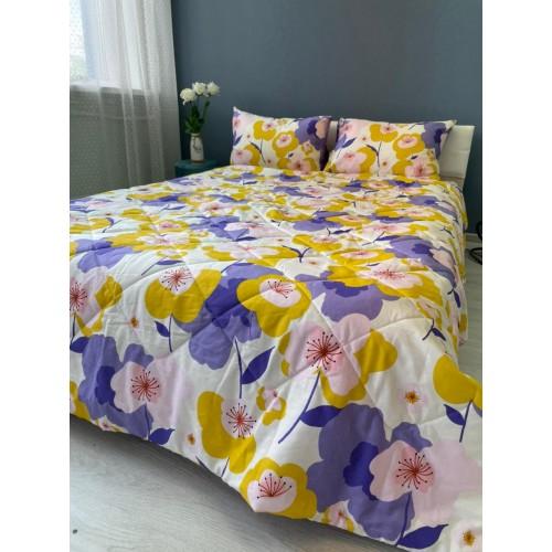 Комплект постельного белья из сатин-твилл с одеялом