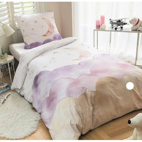 """Комплект постельного белья с эксклюзивным принтом бренда """"Shilly"""""""